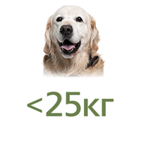 Для собак до 25 кг