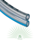 Шланг вакуумный двойной 2х7х13 Milkline ПВХ синяя линия (1 метр)