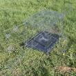 Клетка для собак оцинкованная Savic №5 Бельгия - вид с открытой дверцей