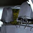 Подстилка в автомобиль для сиденья 140х160 см Trixie 1324 - вариант закрепления к подголовникам