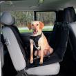 Подстилка в автомобиль для сиденья 140х160 см Trixie 1324 - общий вид с питомцем