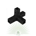 Соединительный элемент угловой для металлических вольеров