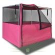 Выставочная палатка Ладиоли М-24 - палатка в розовом цвете