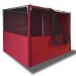 Выставочная палатка Ладиоли М-28 - способ открывания передней дверцы