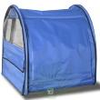 Выставочная палатка Ладиоли М-43 - вид с закрытой фронтальной дверцы