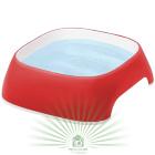 Миска пластиковая GLAM SMALL 1.2 л красная