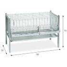 Клетка для цыплят Арт. 177/10C