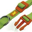 Ошейник Club Colours C 25/70 зеленый - Ошейник CLUB COLOURS C 25/70 зеленый - пластиковая застежка