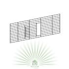 Фронтальная решетка с дверкой для клеток Casita 80