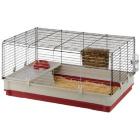 Клетка для декоративных кроликов Krolik Large Бордовый