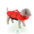 Спасательный жилет для собаки, размер S Trixie 30142 - общий вид спереди