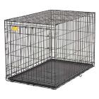 Клетка для собак Midwest Life Stage 122х76х84 см черная 1 дверь. Арт.1648