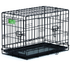 Клетка для собак Midwest Life Stage 56х33х41 см черная 2 двери. Арт.1622DD