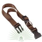 Нейлоновый ошейник Club C15/44 коричневый