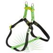 Шлейка Easy Colours P Medium зеленая - Шлейка EASY COLOURS P MEDIUM зеленая - общий вид