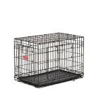 Клетка для собак Midwest 430DD Life Stage 78х50х55 см черная 2 двери MAXLock