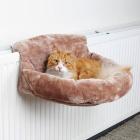 Гамак для кошек на батарею коричневый Trixie 43142