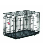Клетка для собак Midwest 436DD Life Stage 94х57х64 см черная 2 двери MAXLock