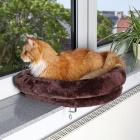 Лежак для кошки закрепляющийся на окне, 54х12 см Trixie 43295