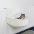 Гамак для кошек на батарею подвесной белый Trixie 43140