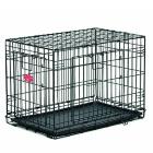 Клетка для собак Midwest 442DD Life Stage 110х75х78 см черная 2 двери MAXLock