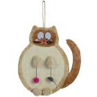 Когтеточка-кошка с игрушками Trixie 43118