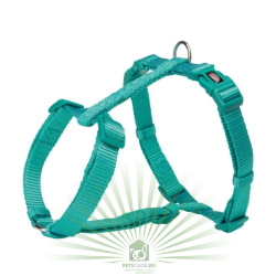 Шлейка Premium H-harness, L–XL: 75–120 см/25 мм, океан, Trixie 203512