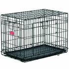 Клетка для собак Midwest 448DD Life Stage 124х79х82 см черная 2 двери MAXLock