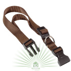 Нейлоновый ошейник Club C20/56 коричневый