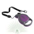Рулетка-поводок Flippy Deluxe Cord Mini фиолетовая - Рулетка-поводок Flippy Deluxe Cord Mini фиолетовая - фото