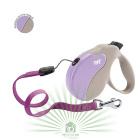 Рулетка со сменной крышкой Amigo Small бежево-фиолетовая