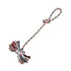 Игрушка для собак веревка с узлом и петлей 70 см Trixie 3279