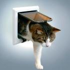 Дверь для кошки De Luxe 4 позиции белая Trixie 38641