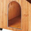 Будка для собаки Domus Mini - вход в будку