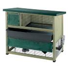 Двухэтажная деревянная клетка для кроликов Ranch 120