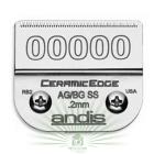 """Нож для машинки Andis, #64740/64730, 00000, 1/125"""" 0.2 мм"""