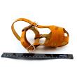 Намордник кожаный №2, модель 702504 - относительный размер намордникка