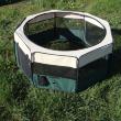 Вольер-Тент Триол XL - вид с открытым верхом