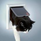 Дверь для кошки 4 позиции, электромагнитная Trixie 3869