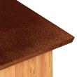 Будка для собаки Domus Large - фрагмент крыши будки