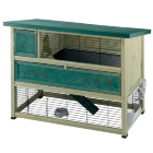Двухэтажная деревянная клетка для кроликов Ranch 140