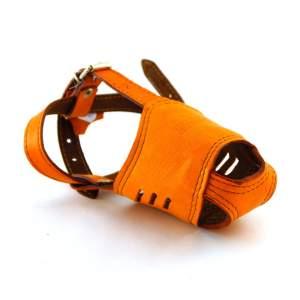Намордник кожаный №2, модель 702507
