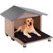 Будка для собаки Canada 4 - вариант размещения собаки