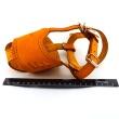 Намордник кожаный №4, модель 703007 - относительный размер намордника