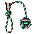 Игрушка для собак веревка с узлом длина 30 см Trixie 3268