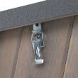 Будка для собаки Merano Extra Large - метод крепления крыши