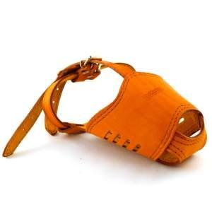 Намордник кожаный №4, модель 703009