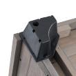 Будка для собаки Merano Medium - монтаж ножек будки