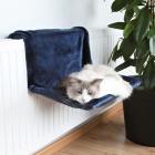 Гамак для кошек на батарею, синий Trixie 43203