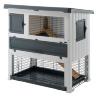 Клетка Ranch 120 Max для содержания кроликов на улице, деревянная